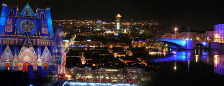 Impressions of Lyon by night and the Fête des Lumières
