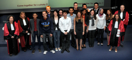 photo of the NSE graduation class of 2012